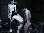 Gay group old and group of guys having sex - Gay...