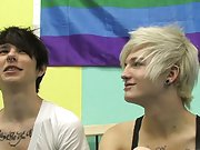 Gay uncut teens audition clips and emo sexy boys dicks at Boy Crush!