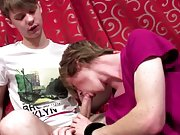 Sexy young twink cum shot and young gay boys eating...
