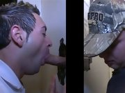 Video gay men blowjob and gay boy gets blowjob from old man
