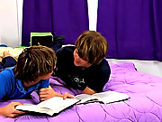 Twinks Damien Belle Vie and Craig Ashton are doing their homework and can hardly heart on the task at guardianship free gay big cock twink