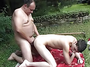And after a while man strikes out at the guy and fucks his tight ass firmly making him  and feel real bliss and comfort gay men outdoors