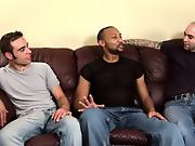 His first huge cock free gay interracial gangbangs