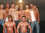 Each gay stud gets a proffer to force his cock into Michael's willing mouth mature gay group sex