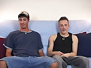 Ryan's hard, thick cock was all the way, and I mean all the way into Danny's tight asshole first time gay action