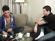 As soon as Mateo showed up for his first BIG COCK shoot, Johnny was immediately sizing him up to see if Mateo could handle what Johnny was packing ana