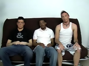 Cole was breathing out sonorous, letting me know that he was in a little bit of pain gay interracial black