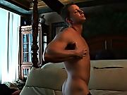 Hot guy, strong muscles, upper case cock and an wondrous pop hunk sexy man muscle