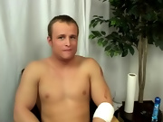 Broke Straight Boys first time gay blow job