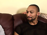 His first huge cock gay interracial clip