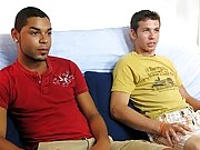 It didn't take him long before he was ready to shoot his load gay latino interracial