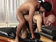 magine how this boy was surprised when the older man who was supposed to teach him whipped out his large fat cock and demanded some action gay mature