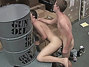 Once, real life couple, Kameron and Nevin get it on while working at the warehouse free gay teen boy twink