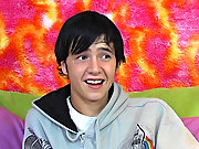 The cute raven haired teen talks take which go out was his favorite, his preferred positions, and much more first time gay anal porn t