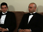 It's a black tie business when Sam Swift and Johnny Maverick collide in their earliest ever two man dick caper gay hunk thong sweaty