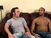 His first huge cock gay interracial vid