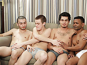 Their innocent experimentation leads to their fullest pleasure as they stick their hard dicks into one anothers' virgin assholes groups of men na