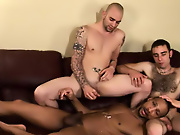 His first huge cock gay interracial in corsets