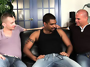 His first huge cock gay interracial gangbang