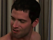 As soon as Mateo showed up during his first BIG COCK shoot, Johnny was promptly sizing him up to see if Mateo could handle what Johnny was packing gay