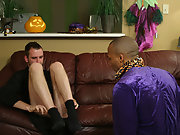 That is until Sly throw off Jordano try out his new Fleshlight interracial gay oral sex
