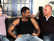 His first huge cock young gay interracial